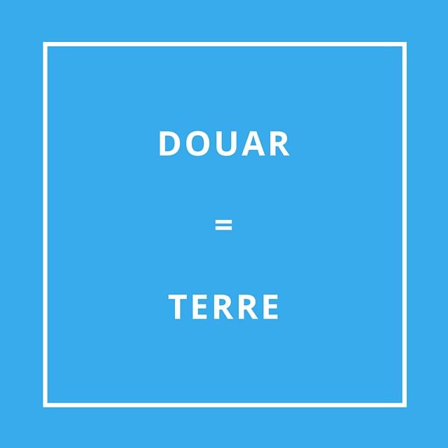 Traduction bretonne Douar = Terre