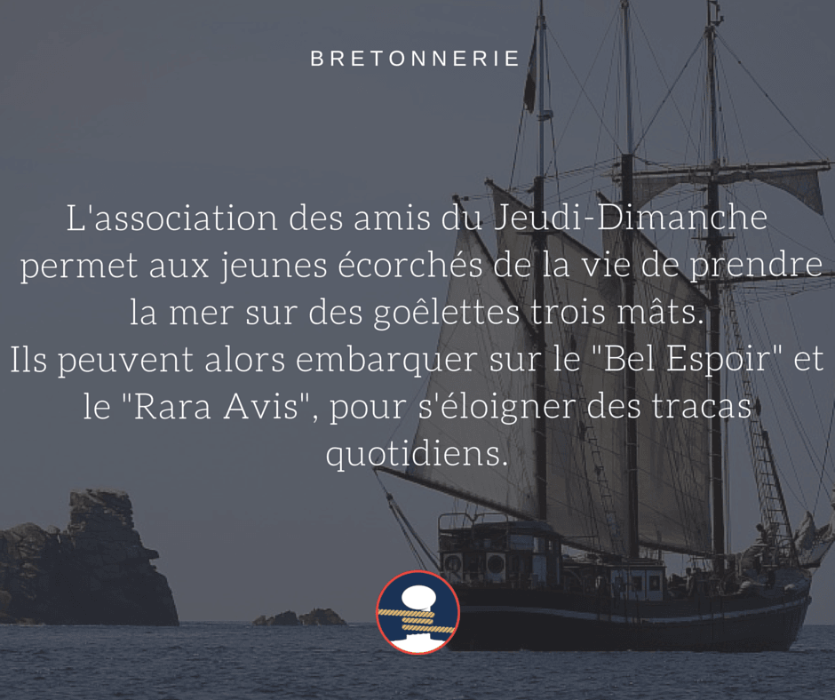 Bretonnerie : L'AJD et ses trois mâts