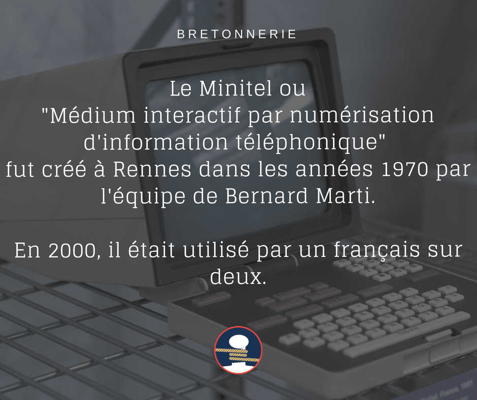 Le Minitel inventé à Rennes